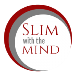 slim with the mind logo white